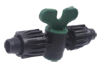 "Power Loc Coupling with Ball Valve - 1/2"" to 1/2"""
