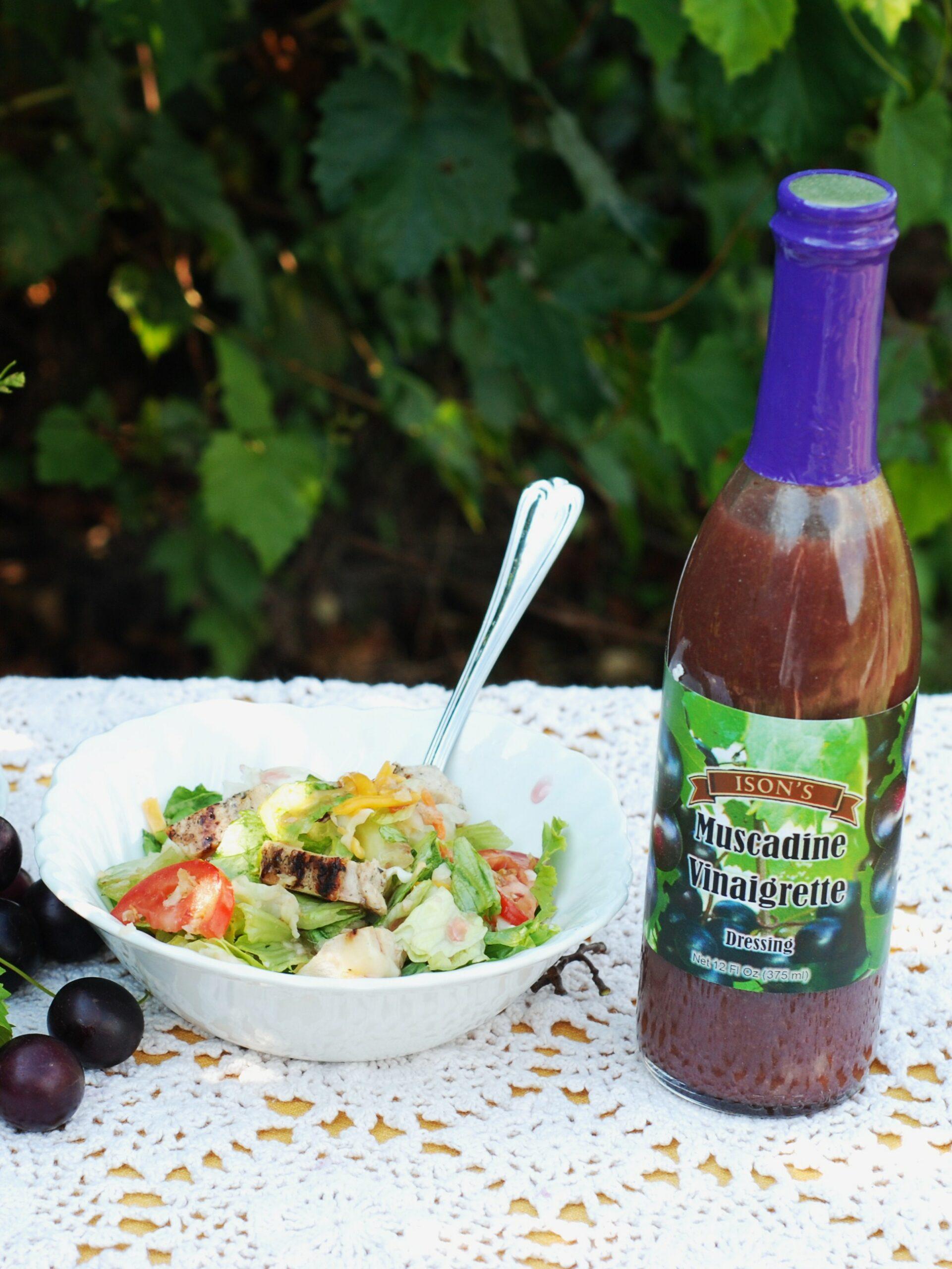 Muscadine Vinagrette. 12 oz. A delicious salad dressing.