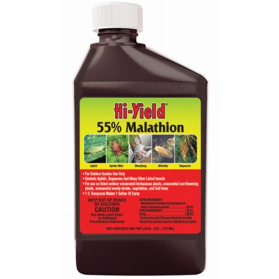 Hi Yield 55% Malathion Insect Spray - 1 Quart
