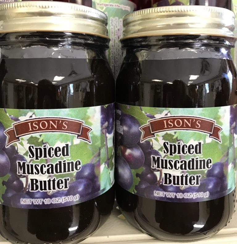 Muscadine Spiced Butter