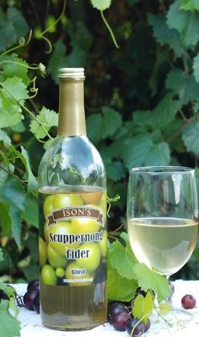 Muscadine White Cider.
