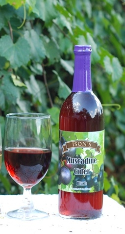 Muscadine Red Cider.