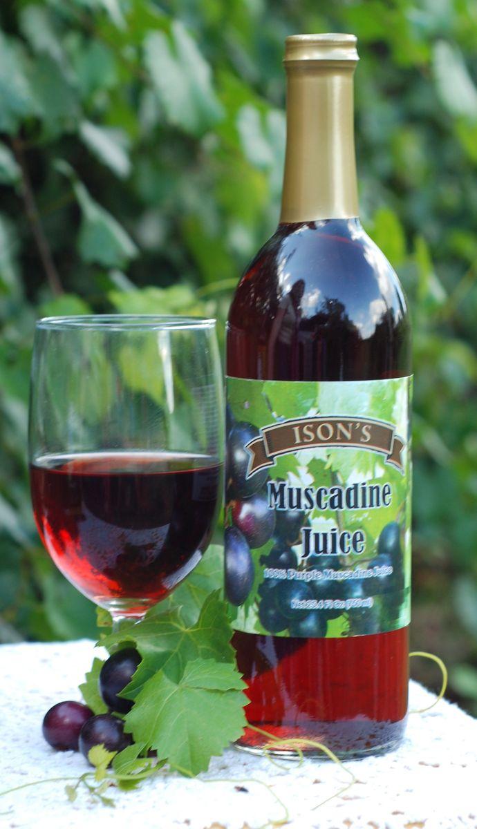 Muscadine Red Juice Ison S Nursery Amp Vineyard